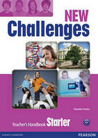 Challenges New Edition Starter Teacher's Book with Multi-Rom