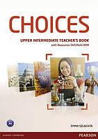Choices Upper Intermediate Teacher's Book with Multi-Rom