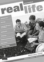 Real Life Intermediate Test book