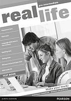 Real Life Pre-Intermediate Test book