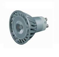 Лампа светодиодная с алюминиевым радиатором GU10 POWERLED 1LEDX3W 4000K