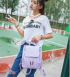 Рюкзак женский Swan purpule, фото 3
