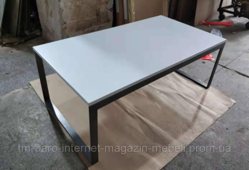 Стол журнальный Brighton R (Брайтон R) 120х65.5х45, белый МДФ (Бесплатная доставка), Nicolas