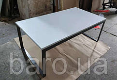 Стол журнальный BRIGHTON R (120*65*45см) MDF белый, Nicolas