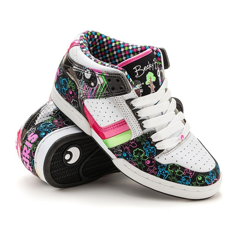 Кроссовки Osiris South Bronx grls bb/characters/blk/multi 33 размер (20 см)