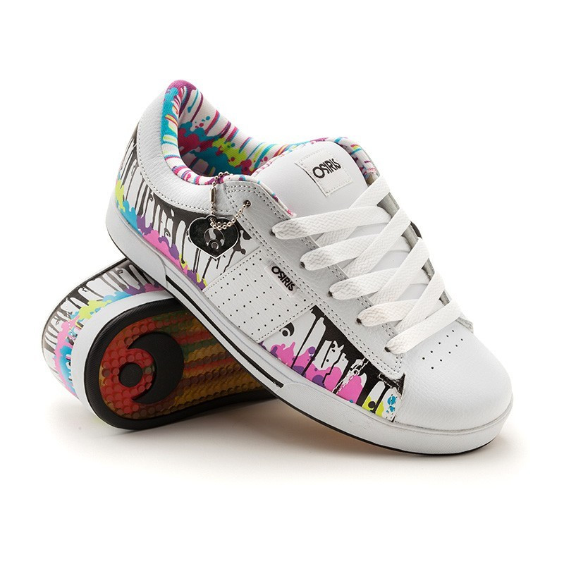 Кроссовки Osiris Volley Grls wht/melted/multi 9,5
