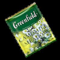 Чай Гринфилд Ромашка Мелкая с мёдом (Camomille Meadow) (100шт) Мягкая, 10шт/ящ