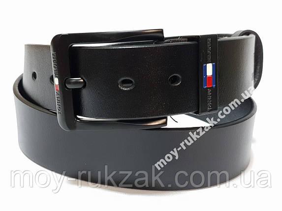 Ремень мужской кожаный Tommy Hilfiger 40 мм., реплика арт. 930644, фото 2