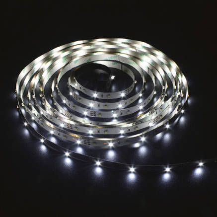 Светодиодная лента 12в в силиконе - Feron LS613 3528 120шт/м  9.6Вт (белая холодная), фото 2