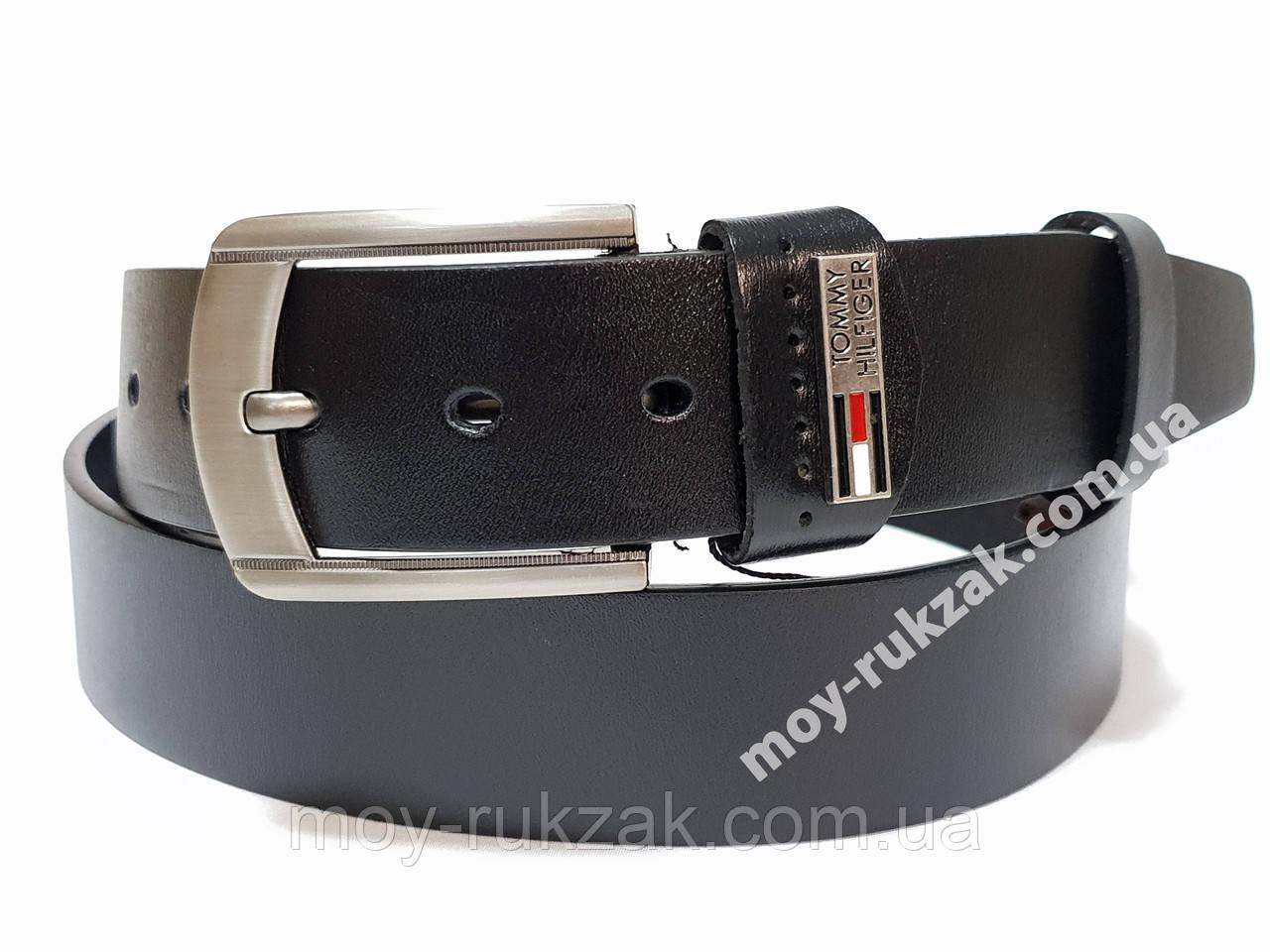 Ремень мужской кожаный Tommy Hilfiger 40 мм., реплика арт. 930647
