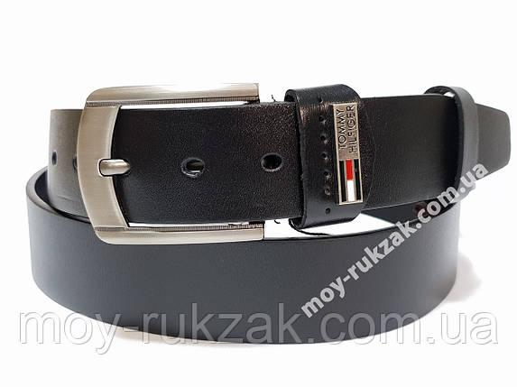 Ремень мужской кожаный Tommy Hilfiger 40 мм., реплика арт. 930647, фото 2
