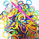 Резинки разноцветные Rainbow Loom 300 шт, фото 3