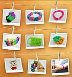 Резинки разноцветные Rainbow Loom 300 шт, фото 6