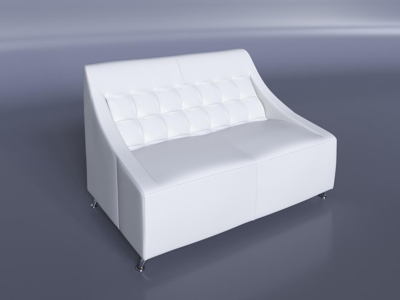 """Офісний диван """"Поліс"""" білий"""