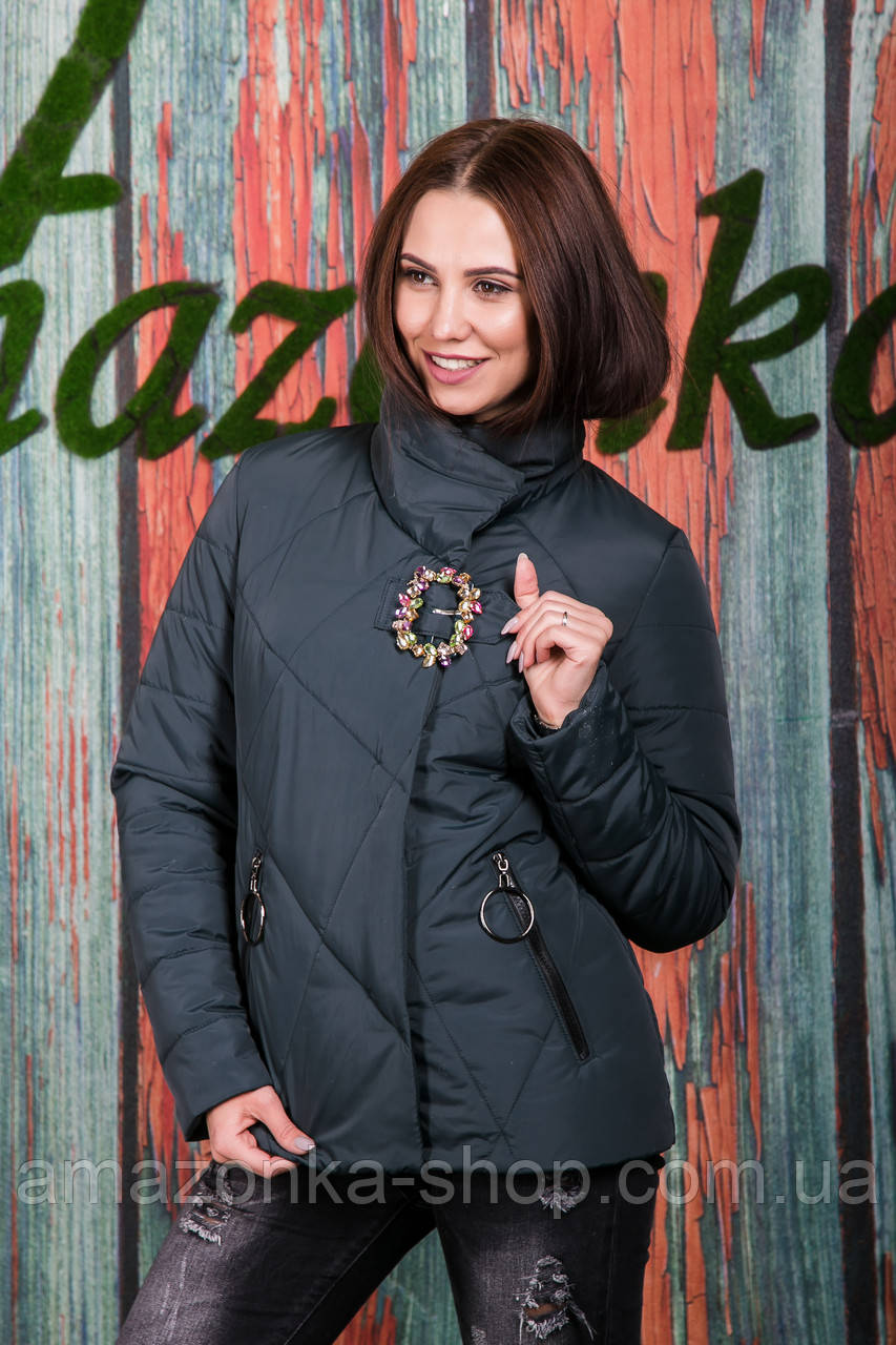 Весенняя женская куртка - модель 2019 - (кт-420)