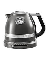 Электрический чайник КitchenАid 1,5 л серебряный медальон 5KEK1522EMS, фото 1