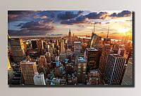 """""""New York 2"""" Картина на холсте для интерьера"""