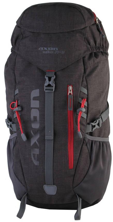 Рюкзак S807025 Axon Walker 20+8L Black , фото 2