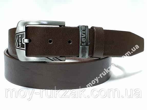 Ремень мужской кожаный Levi's 40 мм., реплика арт. 930663, фото 2