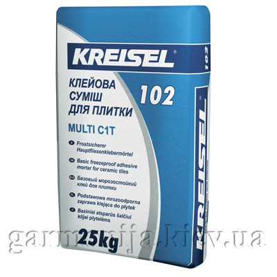 Клей для плитки KREISEL 102 Multi, 25 кг