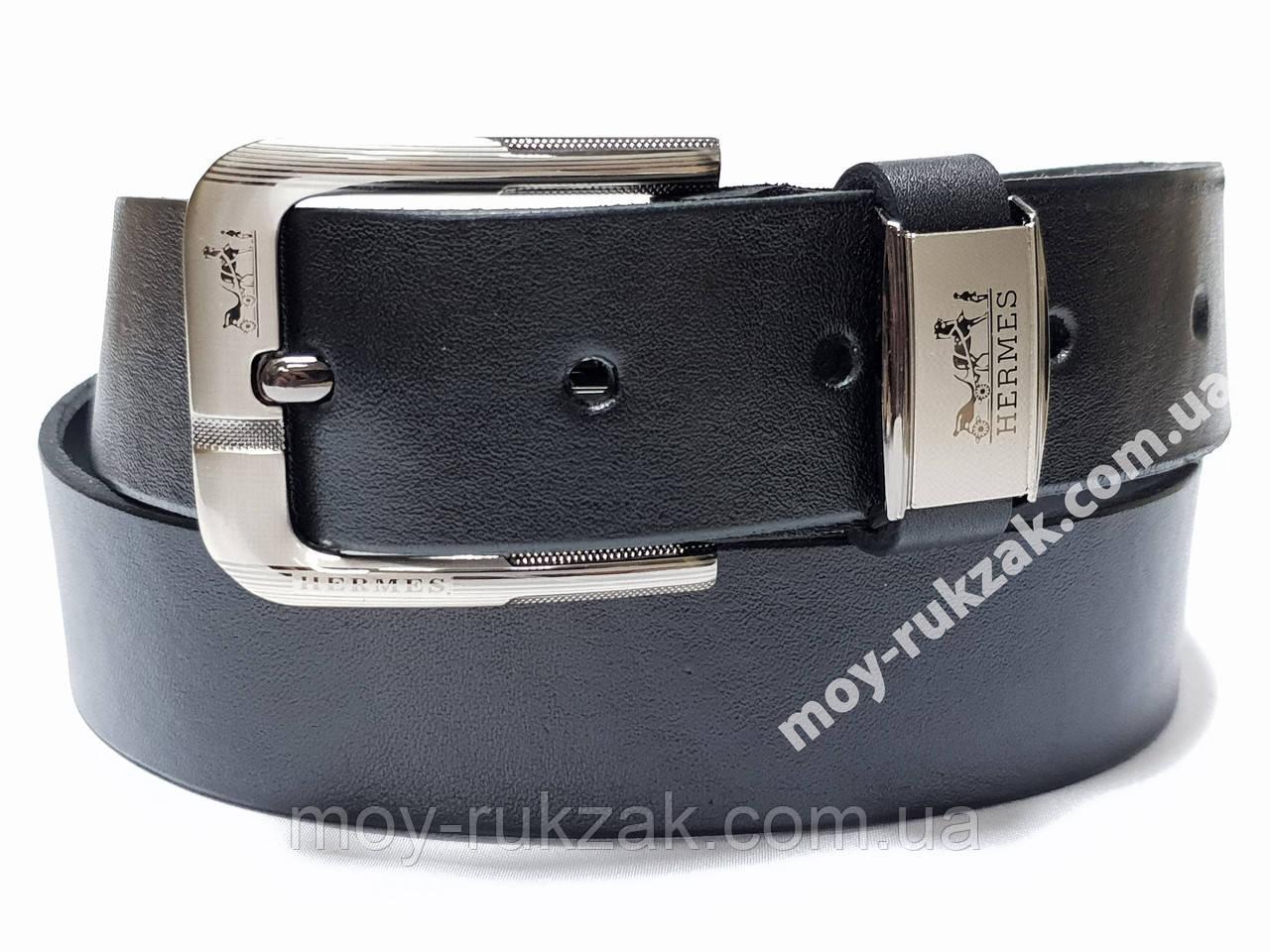 Ремень мужской кожаный Hermes 40 мм., реплика арт. 930665