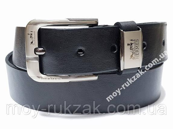 Ремень мужской кожаный Hermes 40 мм., реплика арт. 930665, фото 2
