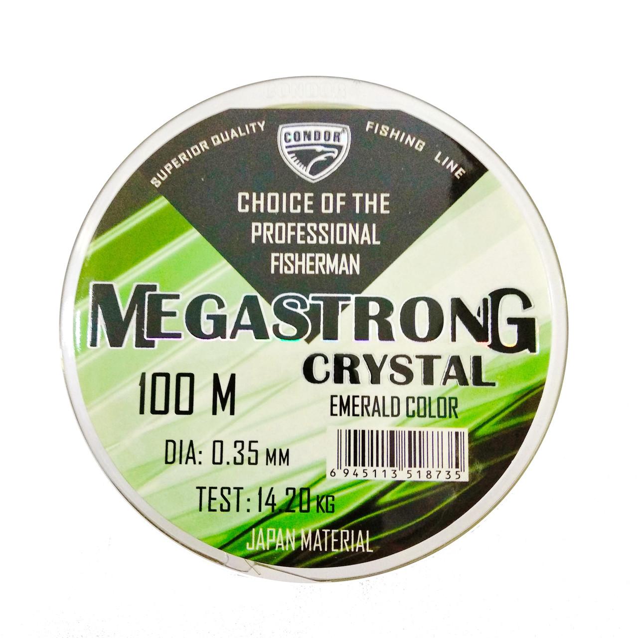 Леска MEGASTRONG   CRYSTAL 100m  Condor