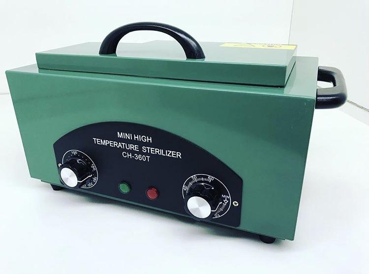 Сухожарова стерилізатор sanitizing box СН 360Т, зелений