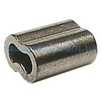 Зажим для опрессовки тросов, Ø 2 мм.