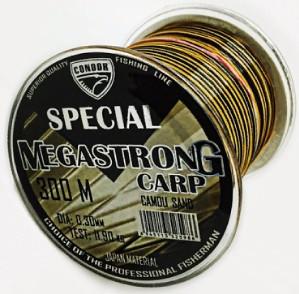 Леска MEGASTRONG Carp CAMOU  SAND 300m, 0.35mm