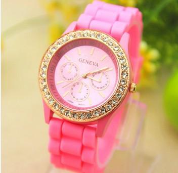 Часы женские  Geneva Fashion pink (розовый)