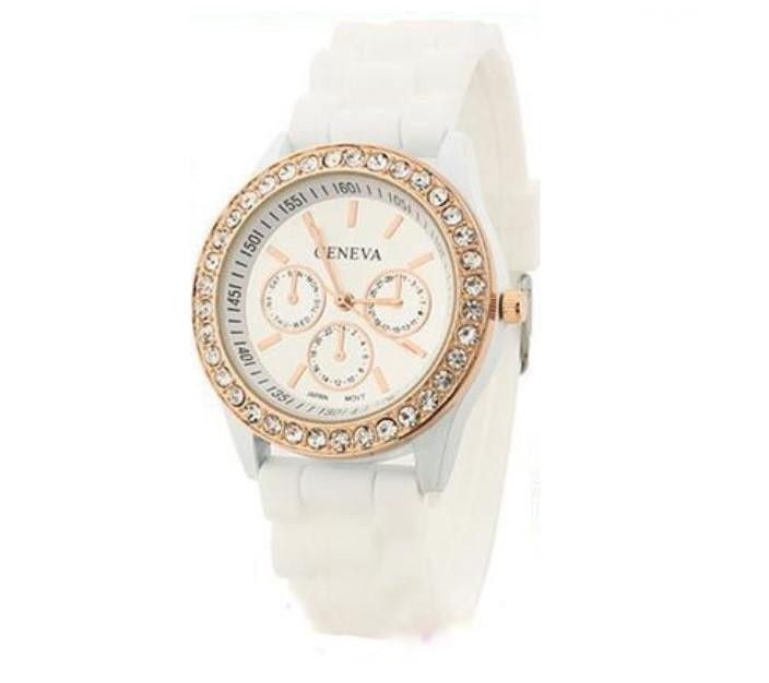 Часы женские  Geneva Fashion white (белый)