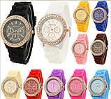 Часы женские  Geneva Fashion white (белый), фото 2