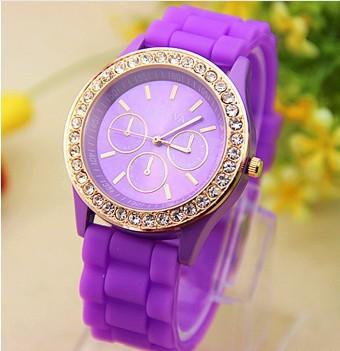 Часы женские  Geneva Fashion purple (фиолетовый)