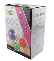 М'яч фітнес 65см, масажний; синій 25415-2B, фото 3