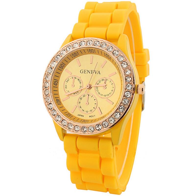 Часы женские  Geneva Fashion yellow (желтый)