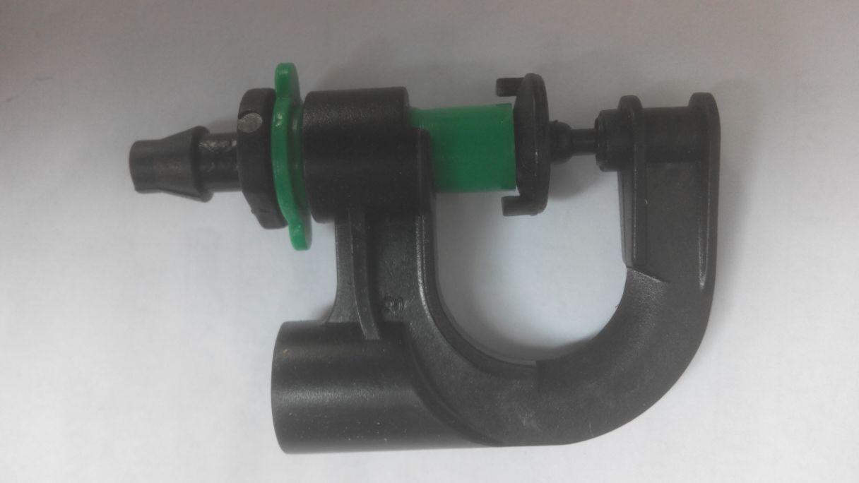 Микрораспылитель вращающийся, Ø 2,1 - 3,2  м, с адаптером, капельное орошение