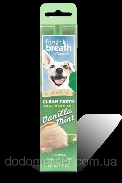 """Гель для чистки зубов у собак Тропиклин """"Ванильная мята"""" 59 мл"""