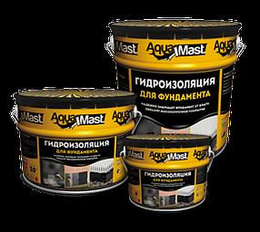 Мастика битумная для фундамента AquaMast (18кг)
