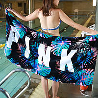 Мягкое полотенце / пляжное полотенце / покрывало / плед Victoria's Secret (Виктория Сикрет) pvs10