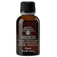 Масло для интенсивного лечения волос Nook Absolute Oil MAGIC ARGANOIL 30 мл