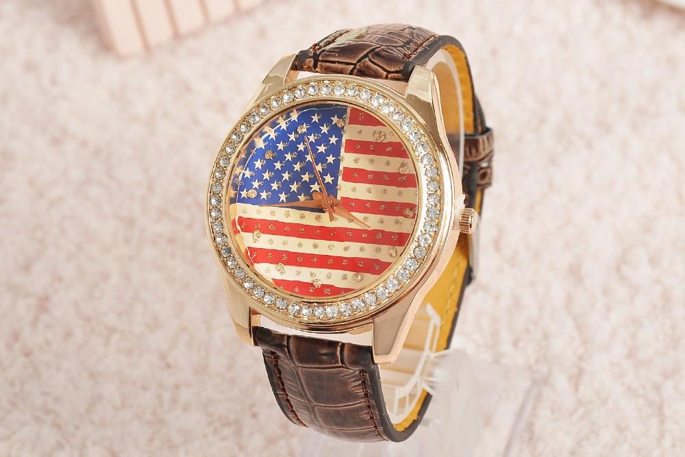 Часы женские USA STYLE brown (коричневый)