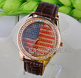 Часы женские USA STYLE brown (коричневый), фото 2