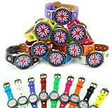 Часы женские наручные BRITISH FLAG green (зеленый), фото 3