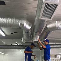 Монтаж системи вентиляції і кондиціонування