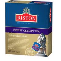"""Чай файнест Цейлон """"Riston"""", 100х1,5 г"""