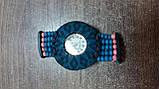 Часы женские браслет WOOD blue-rose, фото 2