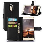 Чехол-книжка Bookmark для Xiaomi Redmi Note 3 black, фото 4