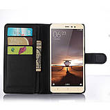 Чехол-книжка Bookmark для Xiaomi Redmi Note 3 black, фото 5