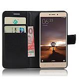 Чехол-книжка Bookmark для Xiaomi Redmi 3S / 3 Pro black, фото 4
